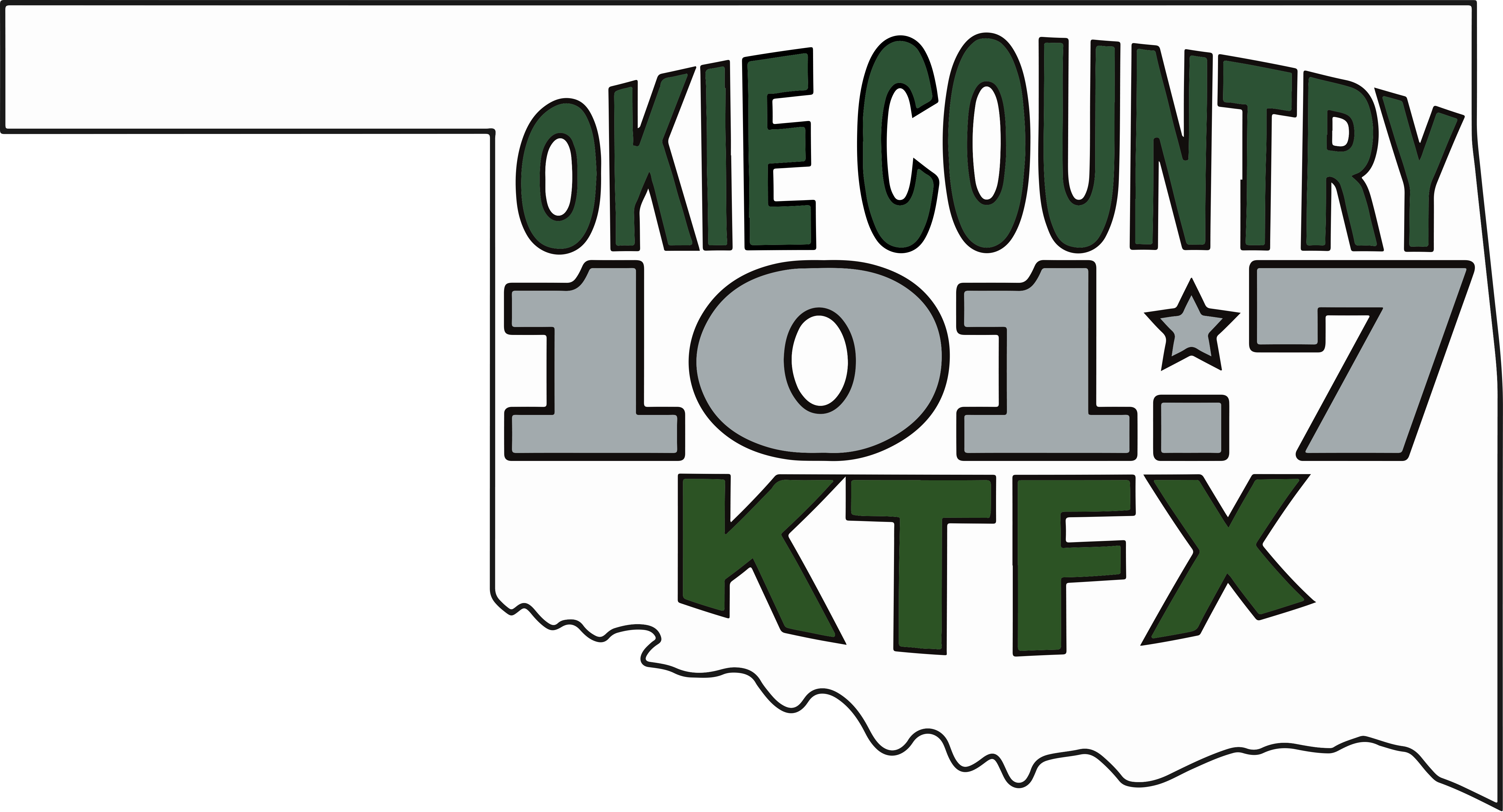 Okie Country - Muskogee Colors - Logo